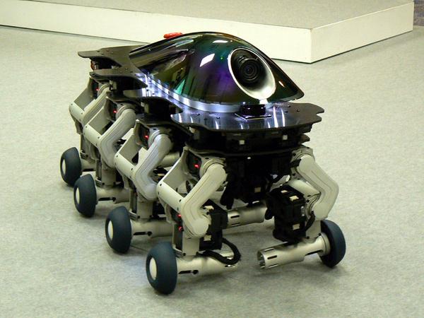 Робот на одном колесе своими руками