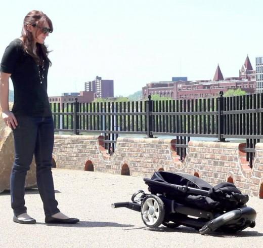 Робототехника в помощь мамам: 4Moms Origami Stroller