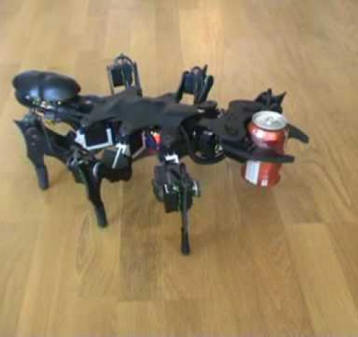 Робот скорпион от норвежского энтузиаста Zenta
