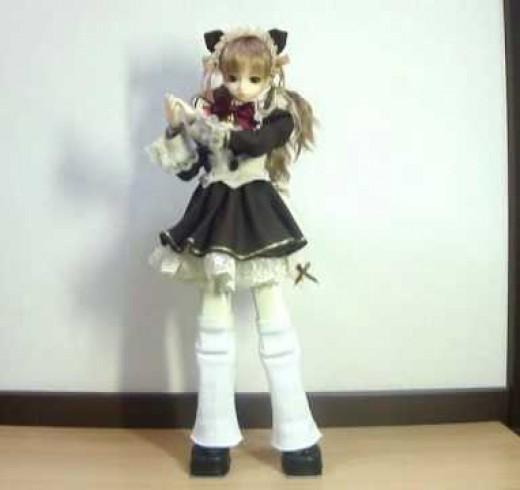 Alice – робот в образе 15 летней японской школьницы…