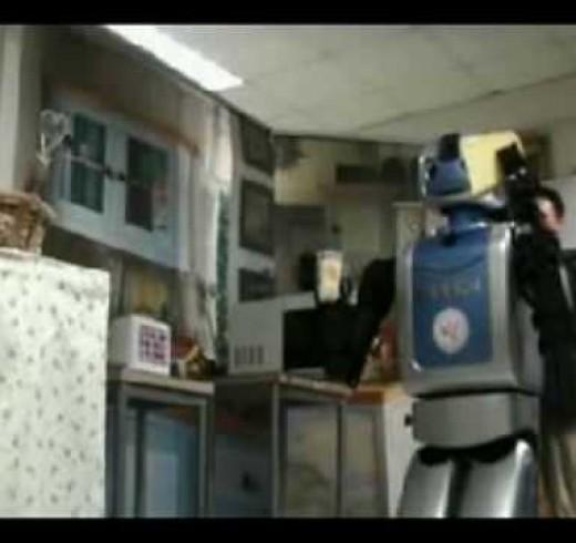 «Дайте мне это сделать» – демонстрация корейских роботов для дома