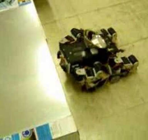 Гигантский квадропод (робот на 4-х ногах)
