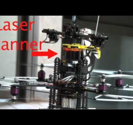 Летающий робот от Robust Robotics Group