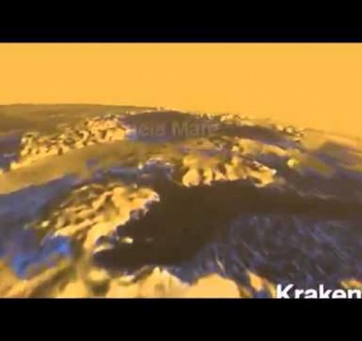 NASA собирается отправить на Титан квадрокоптеры для сбора образцов