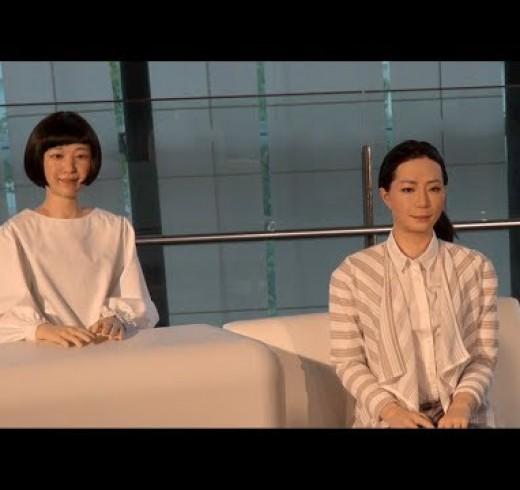 Новые женщины гуманоиды Kodomoroid и Otonaroid от Hiroshi Ishiguro