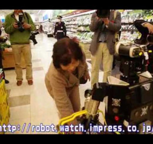 Robovie – робот который поможет в магазине