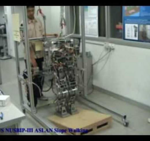 Сингапурский пешеход – робот ASLAN