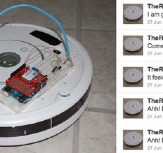 Web-controlled-Twittering-Roomba