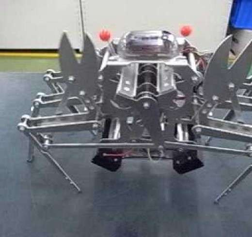 Crazy robot Crab