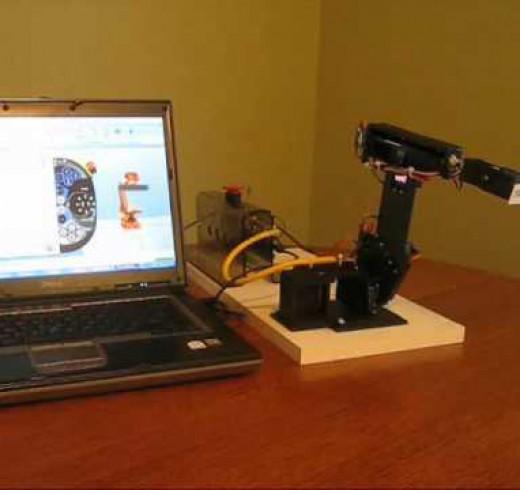 Миниатюрный промышленный робот TROBOT 4.0