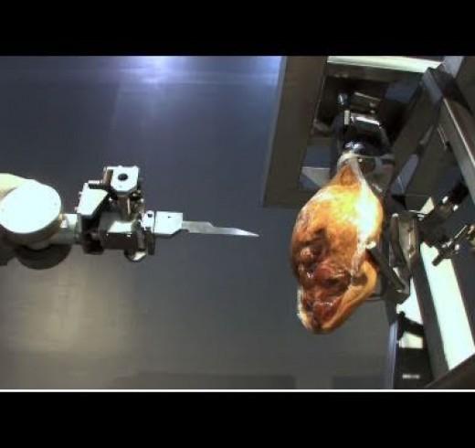 Робот HAMDAS-R оставит мясников без работы