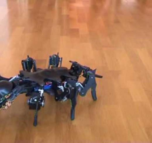Роботы пауки от Zenta
