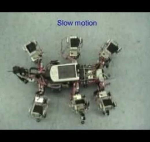 Роботы разбегались, как тараканы