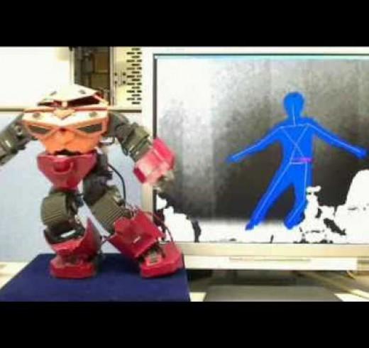 Управление роботом: V-Sido vs Kinect