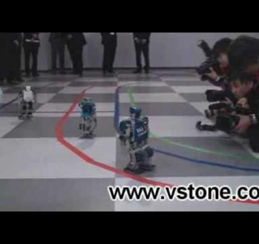 В Японии состоялся первый марафон среди роботов